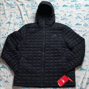 The North Face Mens Thermoball Hoodie Black XXL